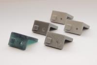 3D Maastricht printed prototypes - cupboard brackets - building industry_4